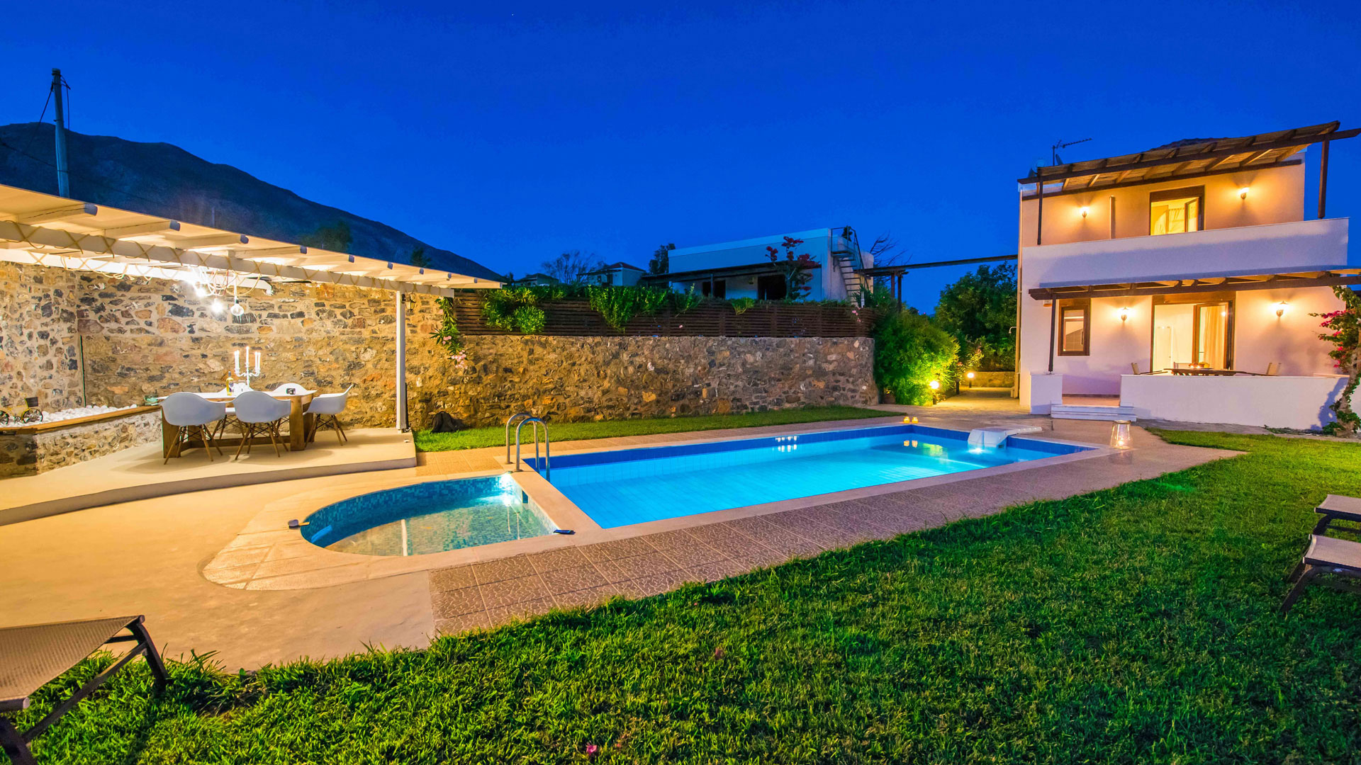 Gasparakis Villas & Bungalows with private pools - Lefkogia Plakias